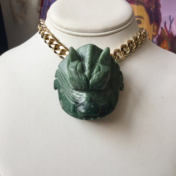 Dragon Jade Head