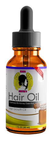 Oatmeal & Honey Essential Hair Growth Oil