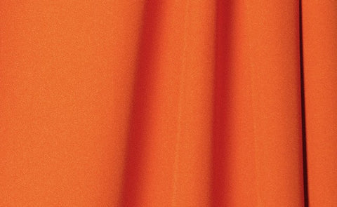 Tangerine Wrinkle-Resistant Background - Backdropsource New Zealand
