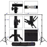 Portable Photography Backdrop Stand - 3m Wide X 2.7m Tall - Backdropsource New Zealand - 2