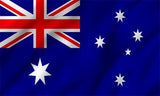 Australian Country Flag in TrueKolor Wrinkle Free Fabric
