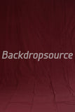Solid Dark Red Photography Fashion Muslin Backdrop - Backdropsource New Zealand - 2