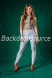 Solid Dark Green Photo Fashion Muslin Background - Backdropsource New Zealand - 3