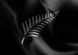 NZ Silver Fern Flag in TrueKolor Wrinkle Free Fabric