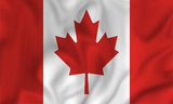 Canada Country Flag in TrueKolor Wrinkle Free Fabric