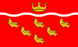 East Sussex County Flag in TrueKolor Wrinkle Free Fabric