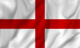 England St George Flag in TrueKolor Wrinkle Free Fabric