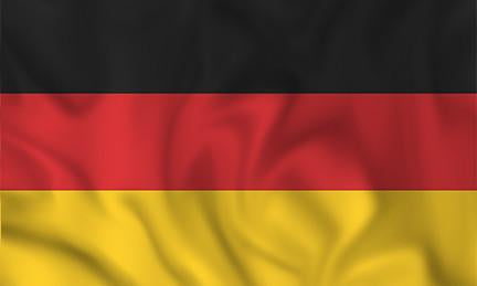 Germany Country Flag in TrueKolor Wrinkle Free Fabric