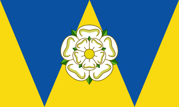 West Yorkshire County Flag in TrueKolor Wrinkle Free Fabric