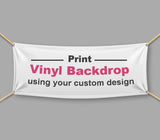 Personalized Vinyl Banner Printing (PVC Banner - 510 GSM)