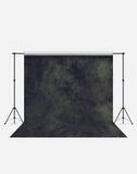 Washed Dark Green Fashion Wrinkle Resistant Backdrop