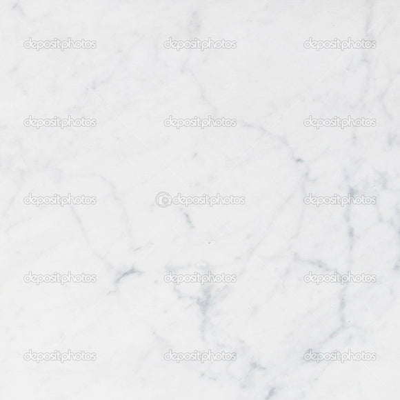 White Marble Texture Indelible Print Fabric Backdrop