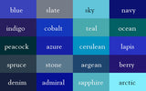 Blue Shade Wrinkle-Resistant Background - Backdropsource New Zealand