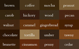 Brown Shade Wrinkle-Resistant Background - Backdropsource New Zealand