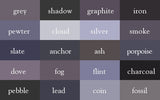 Grey Shade Wrinkle-Resistant Background - Backdropsource New Zealand