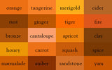 Orange Shade Wrinkle-Resistant Background - Backdropsource New Zealand