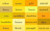 Yellow Shade Wrinkle-Resistant Background - Backdropsource New Zealand