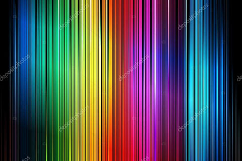 Colourful Vertical Stripe Print Photography Backdrop