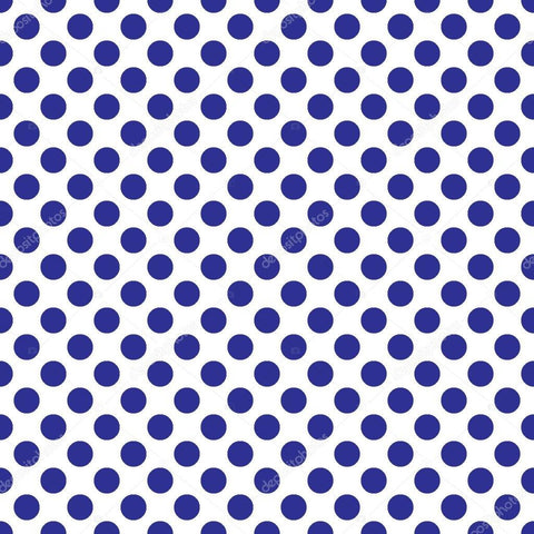 Seamless Vector Blue Polka Dots Print Photography Backdrop