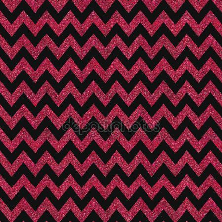 Red and Black Chevron Print Photography Backdrop