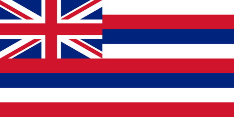 Hawaii State Flag in TrueKolor Wrinkle Free Fabric