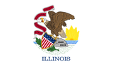 Illinois State Flag in TrueKolor Wrinkle Free Fabric