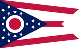 Ohio State Flag in TrueKolor Wrinkle Free Fabric