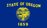 Oregon State Flag in TrueKolor Wrinkle Free Fabric