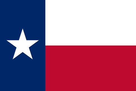 Texas State Flag in TrueKolor Wrinkle Free Fabric