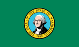 Washington State Flag in TrueKolor Wrinkle Free Fabric