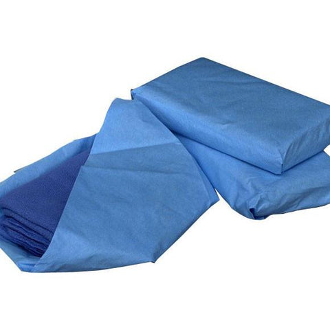 AMD-Ritmed O.R. Towels Sterile, 17x26 in, Blue, 4 per pack - Wealcan