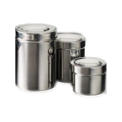 Tech-Med Stainless Steel Dressing Jar 1/2 Qt