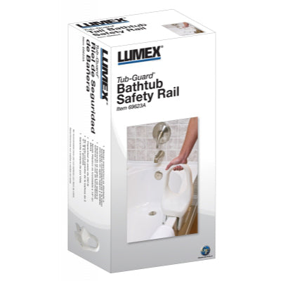 "Lumex Tub-Guard Bathtub Safety Rails - 12"" Height"