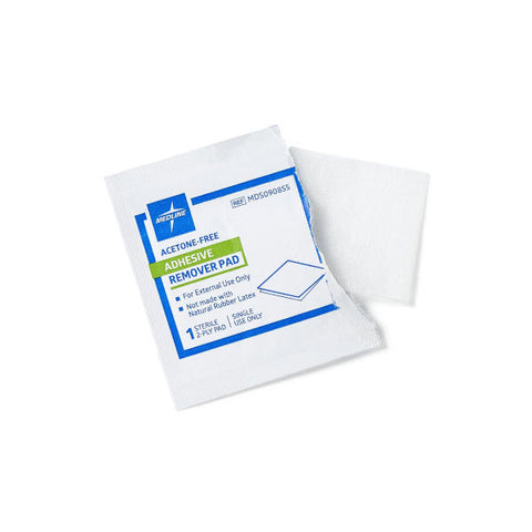 Adhesive Remover Pads Box of 100-  A4456 - Wealcan
