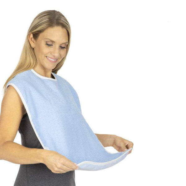 Adult Bib Foldable Crumb Pouch  6 Each (PK)