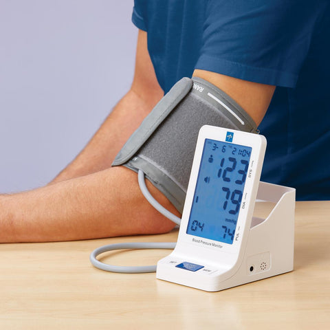 Premium Digital Adult Blood Pressure Monitor - Wealcan
