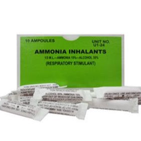 Ammonia Inhalant 10 Each (BX)