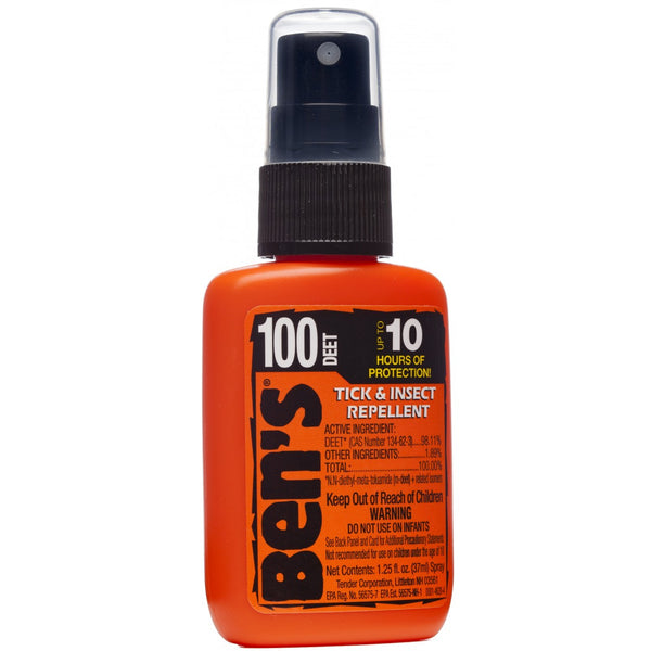 Ben's 100 Tick & Insect Repellent 1.25 oz. Pump Spray