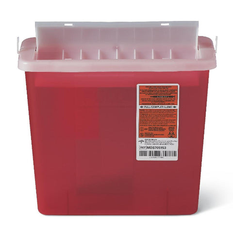 Biohazard Sharps Containers 5 Quart - Wealcan