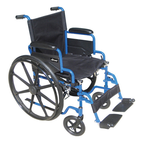 Blue Streak Wheelchair Flip Back Desk Arm