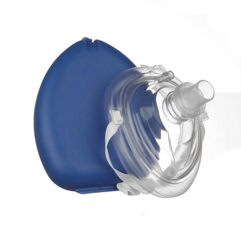 CPR Face Mask Blue