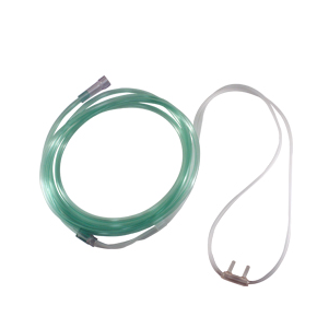 Westmed Comfort Soft Plus Cannula w/7' Green Tubing - Wealcan