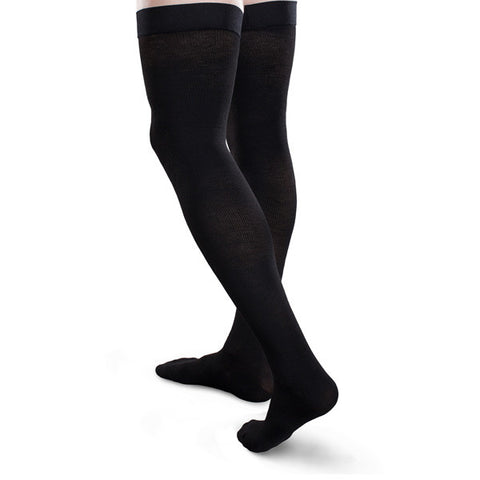 Core-Spun Thigh High Compression Socks