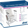 Free Standing Toilet Safety Rail - Wealcan