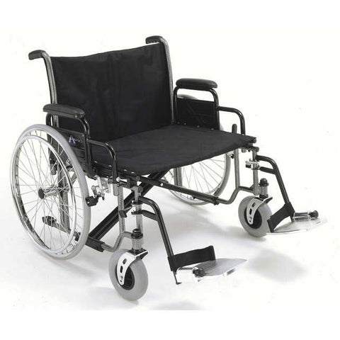 Bariatric Wheelchair with Desk-Length Arms K0007