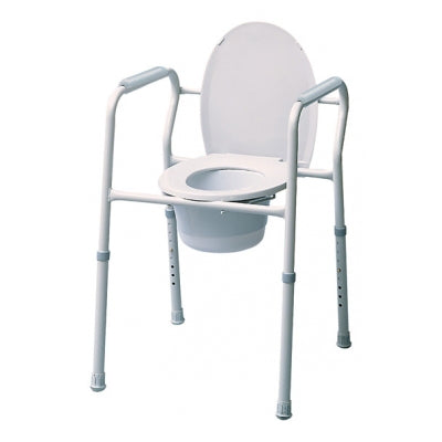 Lumex 3-in-1 Adjustable Steel Commode - E0163