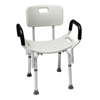 Lumex Bath Seat With Back & Arms E0245 - Wealcan