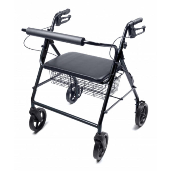 Lumex Walkabout Four-Wheel Imperial Bariatric Rollator - Wealcan