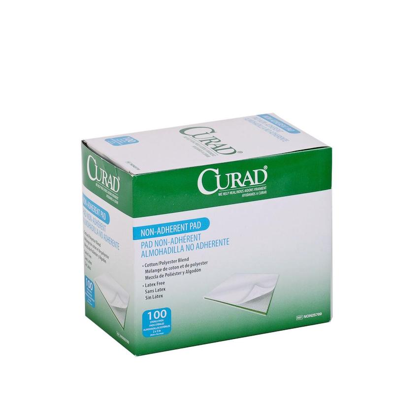 Sterile Non-Adherent Pad 100/BX - A6251 - Wealcan