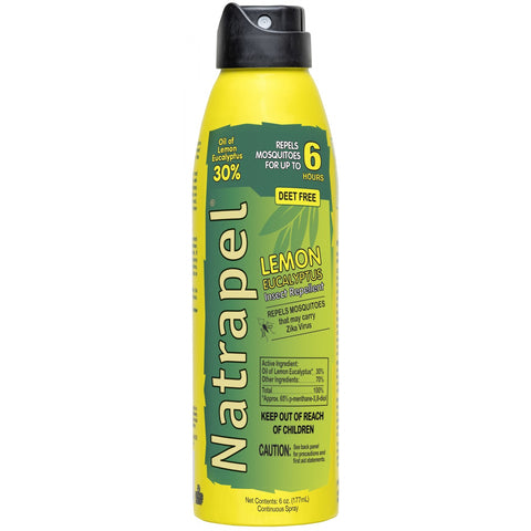 Natrapel Lemon Eucalyptus 6 oz, Insect Repellent